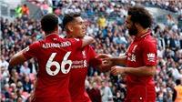 Tottenham 1-2 Liverpool: Liverpool thắng trận thứ 5 liên tiếp!