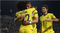 PAOK 0-1 Chelsea: Pedro chấn thương và sự vô duyên kì lạ của Morata