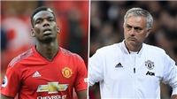 Pogba thông báo muốn rời M.U sau khi bị Mourinho tước băng đội trưởng
