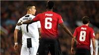 Cúp C1 sáng nay (24/10): M.U lép vế trước Juve, Real đã biết thắng