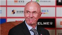 Bao năm qua HLV Sven-Goran Eriksson làm gì, ở đâu trước khi dẫn dắt Phillipines?