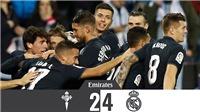Video clip Celta Vigo 2-4 Real Madrid: Thu hẹp khoảng cách với Barca