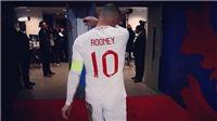 Wayne Rooney bật khóc trong trận đấu tri ân với đội tuyển Anh