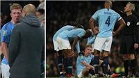 Vừa trở lại, De Bruyne lại khiến Man City lo sốt vó vì chấn thương mới