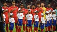 Xem trực tiếp bóng đá Singapore vs Timor Leste (18h30, 21/11) trên VTV5