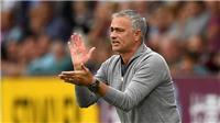 Jose Mourinho: 'M.U sẽ có mặt trong Top 4 vào cuối tháng 12'