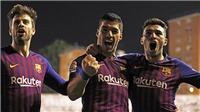 VIDEO Rayo Vallecano 2-3 Barcelona: Luis Suarez tiếp tục sắm vai người hùng