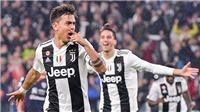 VIDEO Juventus 3-1 Cagliari: Dybala toả sáng trong ngày Ronaldo tịt ngòi