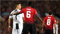 TRỰC TIẾP Juventus vs Manchester United (3h00, 8/11) trên kênh nào?
