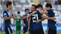 VTV5. VTV6. TRỰC TIẾP Nhật Bản vs Uzbekistan (20h30 ngày 17/1): Phân định ngôi đầu