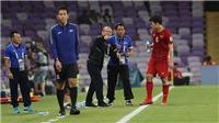VIDEO:HLV Park Hang Seo bình thản đến lạ lùng trong trận đấu với Yemen