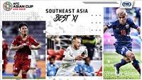 3 cầu thủ Việt Nam lọt vào đội hình Đông Nam Á xuất sắc nhất vòng bảng Asian Cup 2019