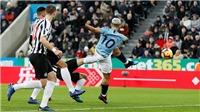 VIDEO bàn thắng Newcastle 2-1 Man City: ĐKVĐ nguy cơ bị Liverpool bỏ xa 7 điểm