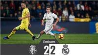 Video Villarreal 2-2 Real Madrid: Người cũ Arsenal mang nỗi buồn cho Real