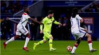 VIDEO highlights Lyon 0-0 Barcelona: Bất lực trên đất Pháp