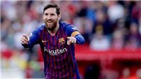 VIDEO Sevilla 2-4 Barcelona: Messi lập hat-trick, Barca ngược dòng ngoạn mục