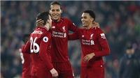 VIDEO Liverpool 5-0 Watford: Mane và Van Dijk cùng lập cú đúp, Liverpool giữ ngôi đầu bảng
