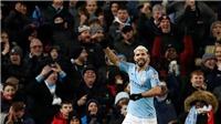 ĐIỂM NHẤN Man City 3-1 Arsenal: Kun Aguero đại phá Arsenal. Man City bám sát Liverpool