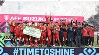 VIDEO: Nhìn lại hành trình của bóng đá Việt Nam năm 2018