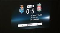 Liverpool vs Porto: Cuộc chiến không cân sức? (02h00 ngày 10/4, trực tiếp K+ PC)