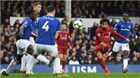 Hòa 0-0 trước Everton, Liverpool đánh mất ngôi đầu bảng