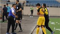 HLV U23 Brunei 'sốc' khi học trò nhận thẻ đỏ