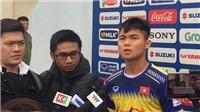 Tân binh Ngô Tùng Quốc: 'U23 Thái Lan nhỉnh hơn U23 Việt Nam'