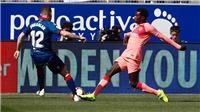 VIDEO Huesca 0-0 Barcelona: Vắng Leo Messi, Barca không thắng nổi đội bét bảng Liga