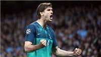 Man City 4-3 Tottenham (tổng 4-4): Man City bị loại kịch tính vì VAR, Tottenham sẽ gặp Ajax