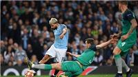 Xem TRỰC TIẾP bóng đá Man City vs Tottenham (18h30, 20/4) ở đâu?