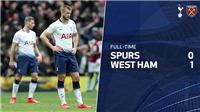 VIDEO Tottenham 0-1 West Ham: Spurs trượt chân, cuộc đua Top 4 thêm nóng bỏng