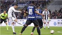 Inter 1-1 Juventus: Ronaldo giải cứu Juve sau 'siêu phẩm' sút xa của Nainggolan