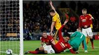 Chuyên gia Sky Sports: 'De Gea đã khiến MU thất bại 1-2 trước Wolves'