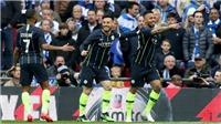 VIDEO Man City 1-0 Brighton: Man City vào chung kết FA Cup, mơ 'cú ăn 4'