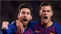 Leo Messi: 'Tôi đã gặp may trong pha đá phạt vào lưới Liverpool'