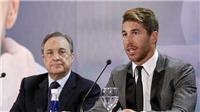 """Real Madrid cạn tình, cố """"bóc lột"""" Sergio Ramos"""
