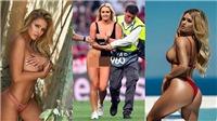 Lộ lý do người mẫu ngực khủng chạy vào sân trong trận chung kết Champions League