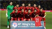 TRỰC TIẾP bóng đá King's Cup 2019 hôm nay. Lịch thi đấu U23 Việt Nam vs Myanmar