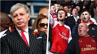 Arsenal: 65.000 CĐV ký tên kiến nghị, gửi tối hậu thư tới tỷ phúStan Kroenke