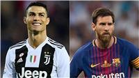 Ronaldo vượt qua Messi, trở thành 'Vận động viên được ngưỡng mộ nhất năm 2019'
