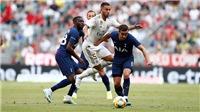 VIDEO: Real Madrid thua Tottenham 0-1, Bayern hạ Fenerbahce 6-1 ở bán kết Audi Cup