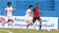VIDEO: Ngả mũ thán phục với 4 'siêu phẩm' trong 1 trận của cầu thủ U18 Timor Leste