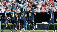 VIDEO Celta Vigo 1-3 Real Madrid: Luka Modric bị thẻ đỏ, Real Madrid vẫn thắng dễ dàng