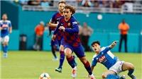 VIDEO Napoli 1-2 Barcelona: Chiến thắng nhọc nhằn trên đất Mỹ