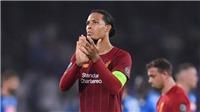 Napoli 2-0 Liverpool: Đến 'siêu hậu vệ' Van Dijk cũng mắc sai lầm