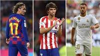 Top 10 CLB chi nhiều nhất ở kỳ chuyển nhượng Hè 2019: La Liga thống trị, MU chỉ đứng thứ 6