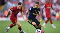 TRỰC TIẾP BÓNG ĐÁ: Liverpool đấu với Arsenal (2h30 ngày 31/10). Trực tiếp TTTV