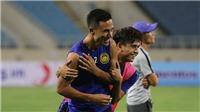 Malaysia tập kèm người trước cuộc đối đầu tuyển Việt Nam