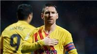 Atletico 0-1 Barcelona: Messi tỏa sáng phút cuối, Barca lấy lại ngôi đầu