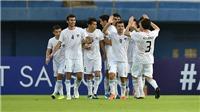 Kết quả bóng đá U23 châu Á: U23 Trung Quốc 0-2 U23 Uzbekistan